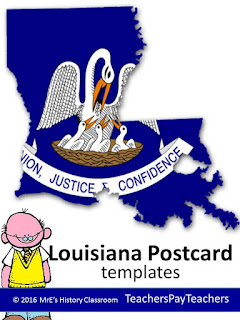 https://www.teacherspayteachers.com/Product/LOUISIANA-Postcard-796430