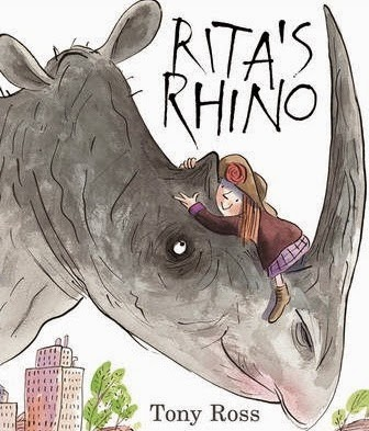 Picture Book Review of Rita's Rhinoceros by Tony Ross