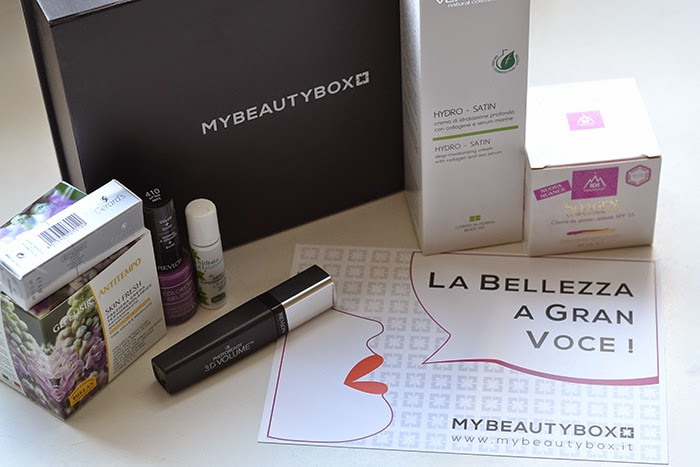 my beauty box la bellezza a gran voce