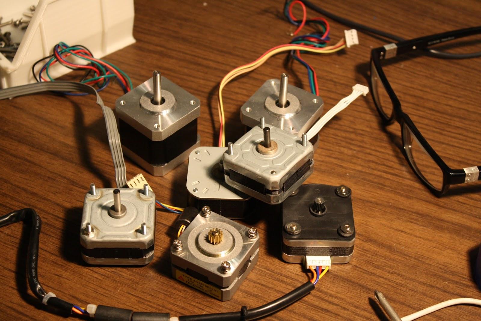 Bryan Cera Salvagable Printer Scanner Parts For 3d