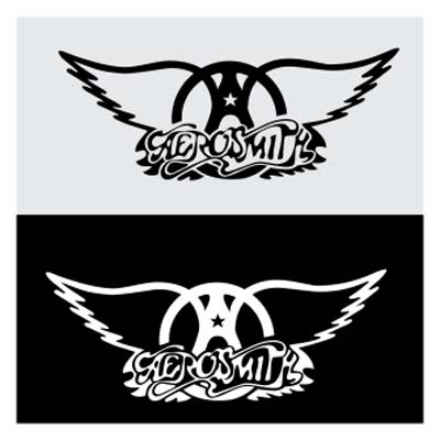 Aerosmith logo vector Grup Band Legendaris