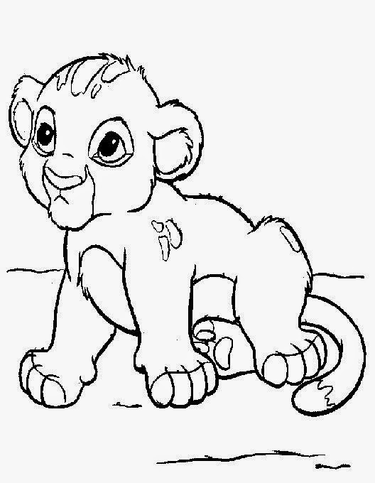 Lion King Coloring Pages Online Affordable Lion King Kiara