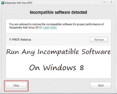 How To Run Any Incompatible Windows 7 Softwares on Windows 8