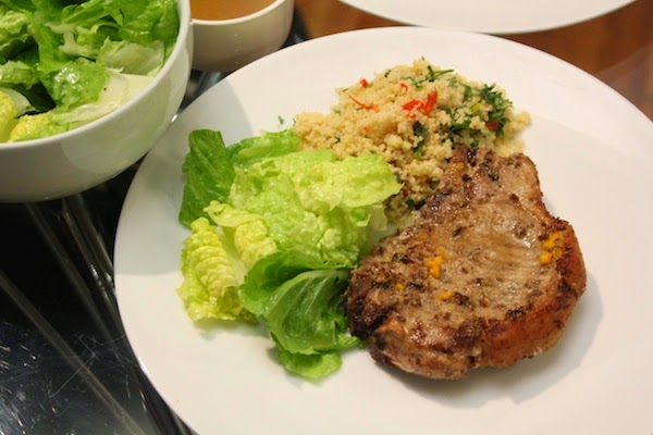 Pork Chop with Cumin & Coriander ~ The Trishaw