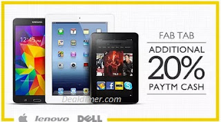Tablets Extra upto Rs. 10000 Cashback