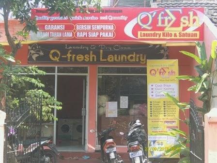 Waralaba Q'Fresh Laundry