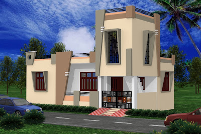 Contemporary Home Design on Udaipur Style 1000 Sqft Contemporary House Design