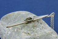 Flotte kajaksmykker i sølv