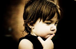 Criança Pensando Futuro