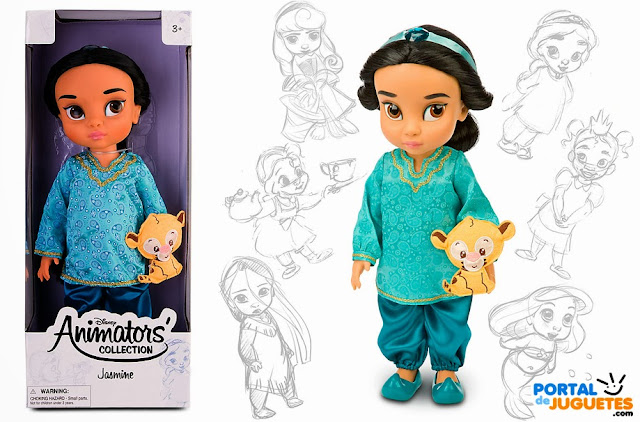 muñeca yasmin jasmine coleccion animators