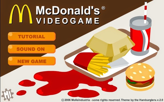 mcdonalds video games
