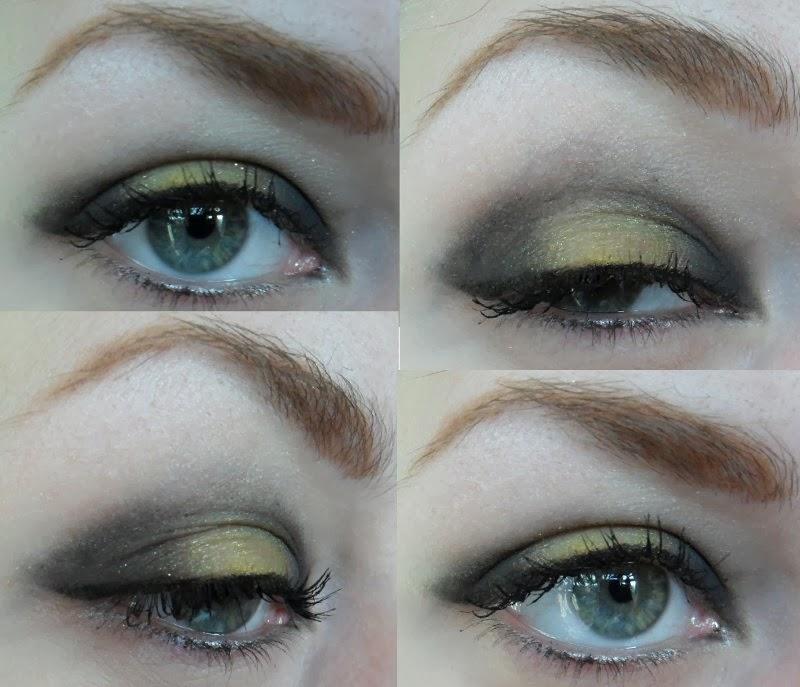 Harry Potter Hufflepuff Makeup