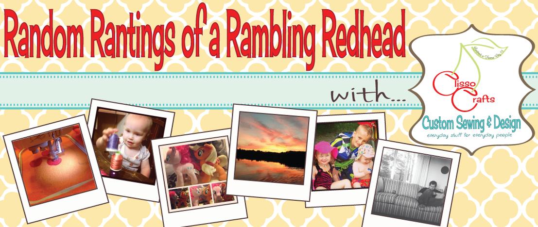 Random Rantings of a Rambling Redhead