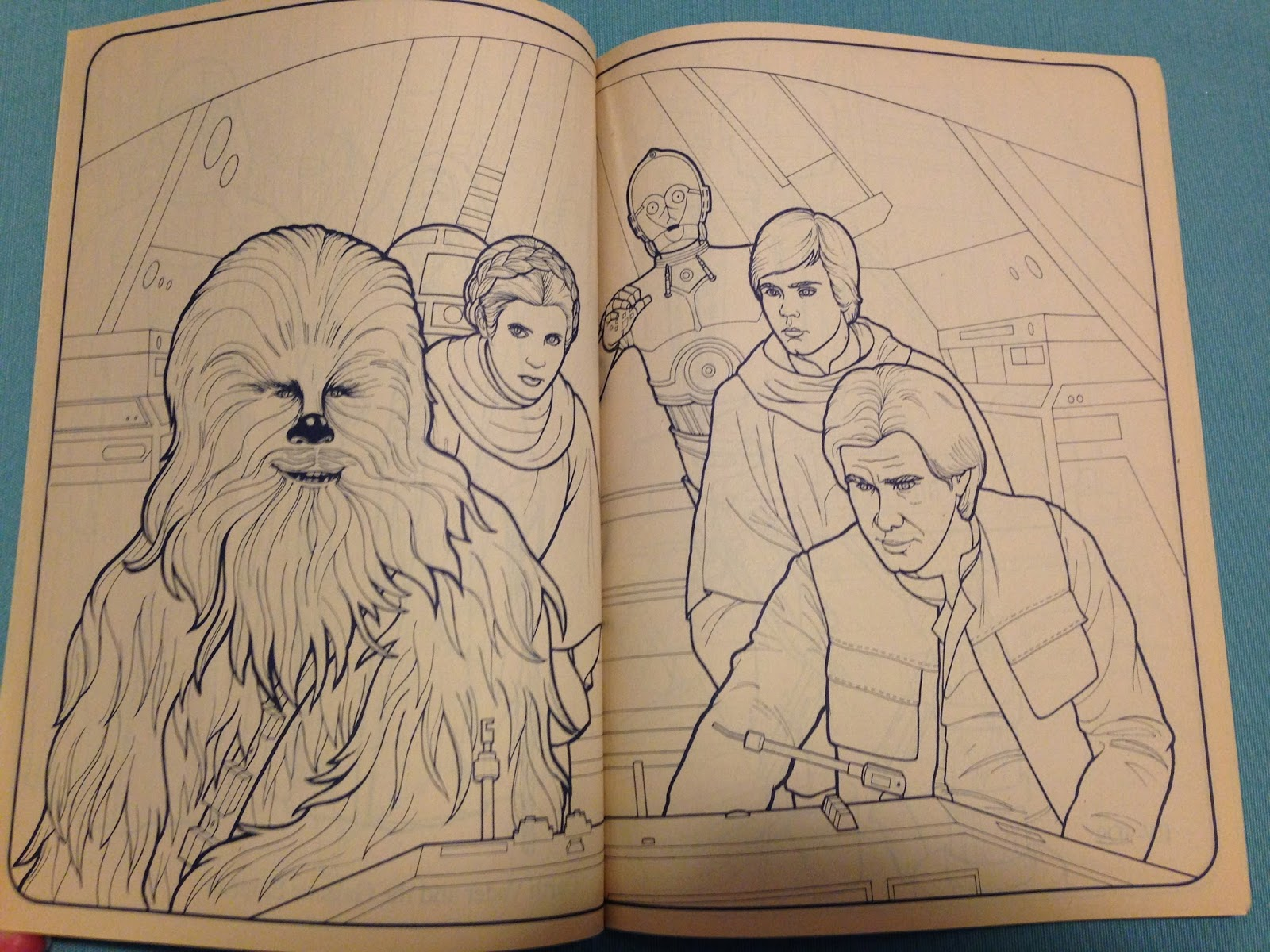 theswca blog: Star Wars Coloring and Activity Books