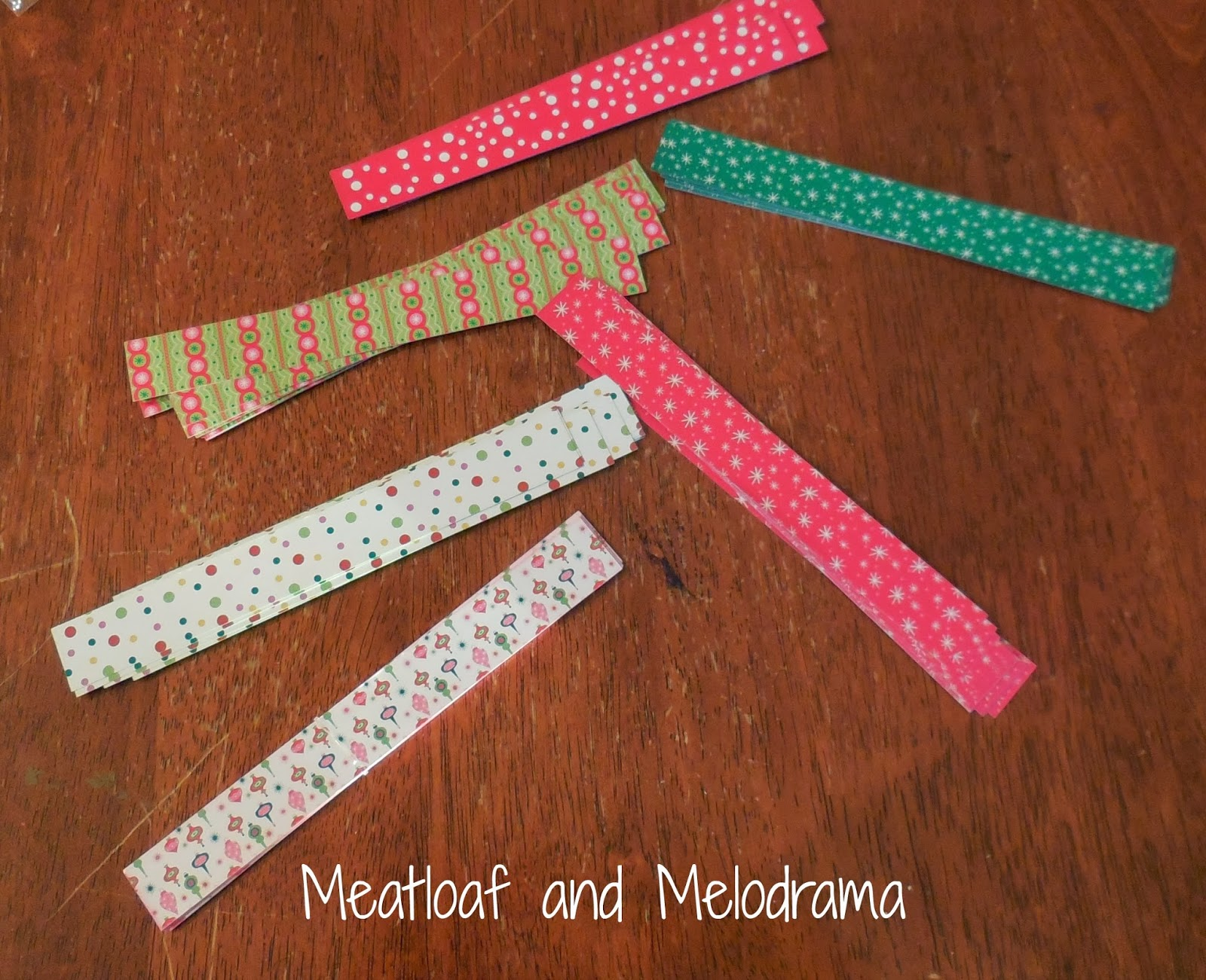 craft paper chain