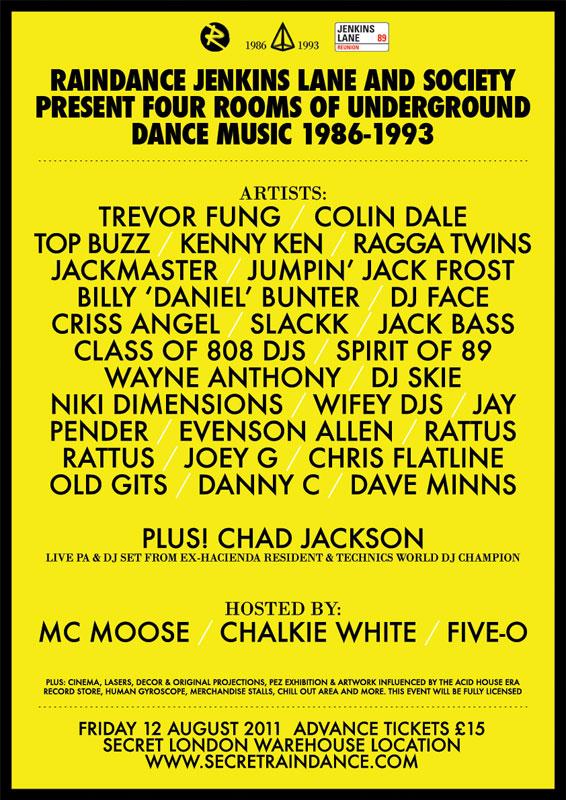 The history of acid house secret raindance acid house for Acid house history