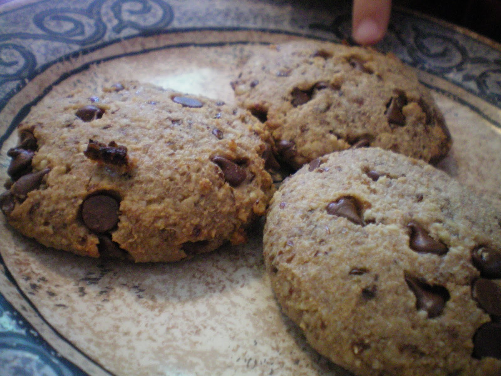 The Primal Home: Chocolate Chip Cookies- Grain Free, Egg Free