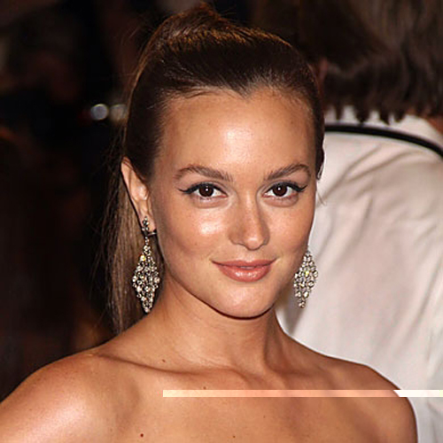 Leighton Meester - Ponytails