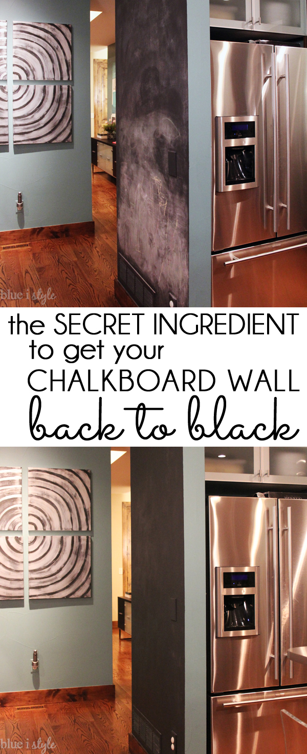 Kitchen Chalkboard Wall Five Minute Friday How To Get Your Chalkboard Wall Back To Black