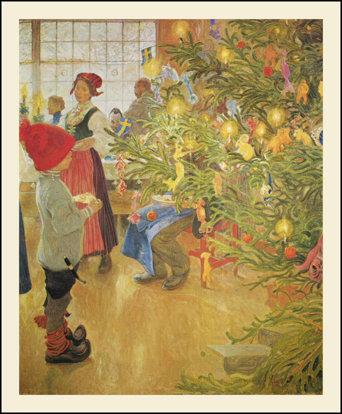 The Pictorial Arts: Swedish Yuletide