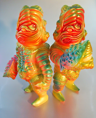 The Glowmelon Salamander Joe Vinyl Figure by Paul Kaiju