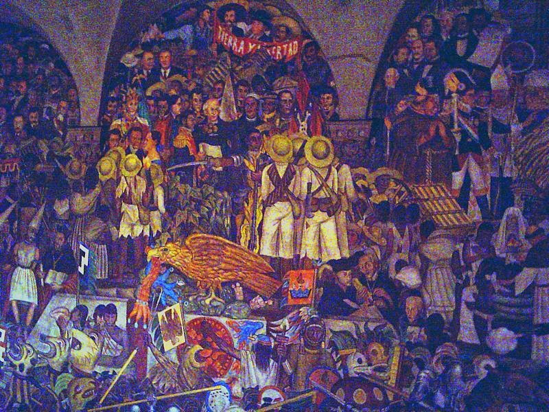 El muralismo y sus caracter sticas for Caracteristicas de un mural