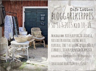 BLOGGARIKIRPPIS 31.5. klo 10-14