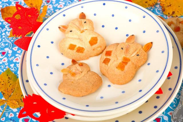 Drei Füchse. Fuchs-Kekse backen. Edyta Guhl.