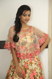 Actress Nithya Shetty Stills in Floral Dress at Padesave Audio Launch CelesbsNext 25281