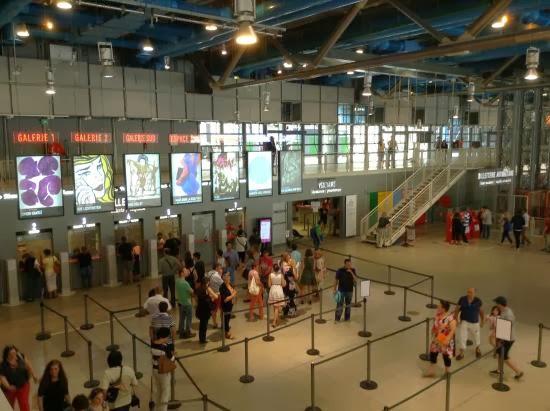 Hall del Pompidou