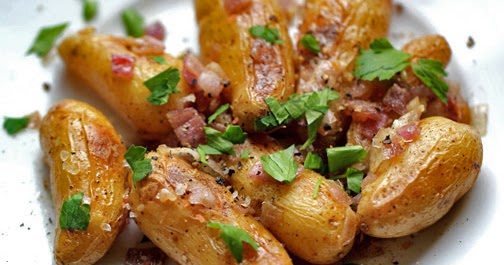 Fingerling Potatoes with Red Onion and Sage - Samantha's favorite ...