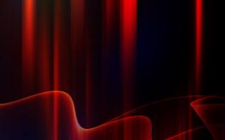 red aurora free hd wallpaper