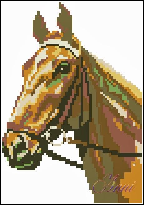 Вышивка лошадь к чему 170