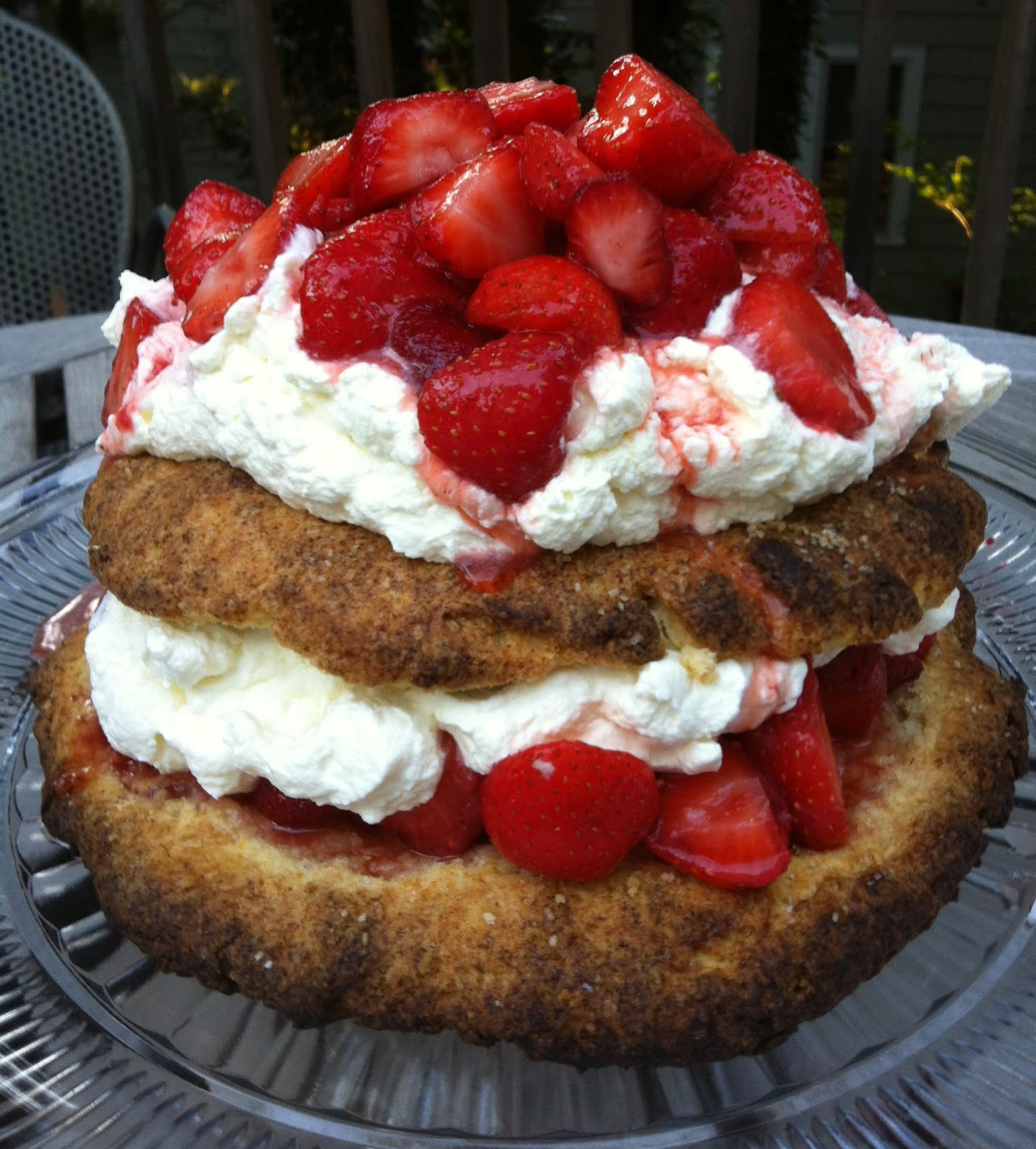 James Beard's Strawberry Shortcakes Recipe — Dishmaps