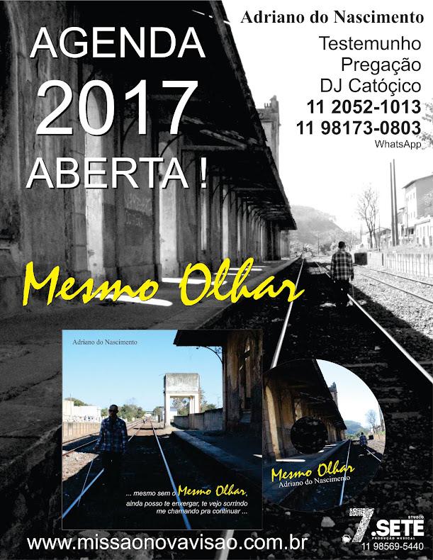 CD Mesmo Olhar / Adriano do Nascimento