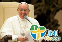 El Papa FRANCISCO estará presente en la JMJ Río 2013