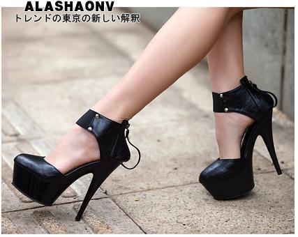 Сонник туфли на высоком каблуке черные