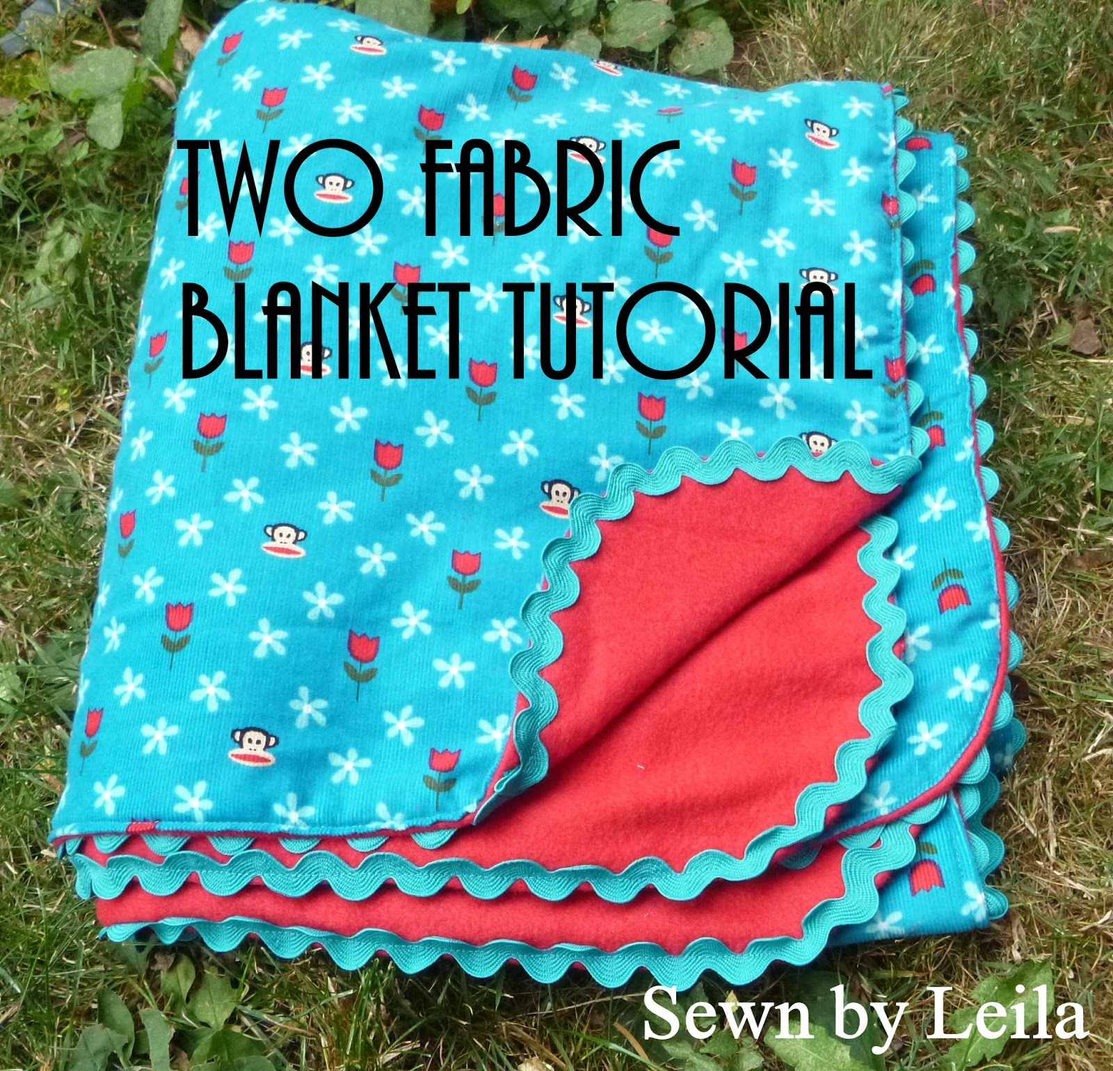 Sewn Easy Peasy Two Fabric Blanket