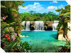 Waterfalls: Tropical waterfalls