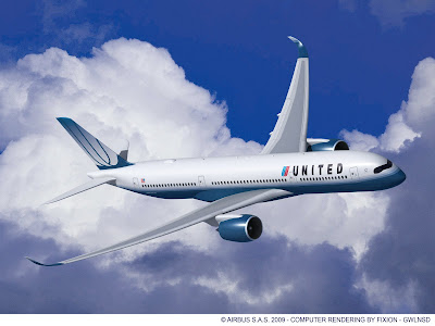Airbus A350-900 A350 XWB United Airlines Rolls Royce Trent