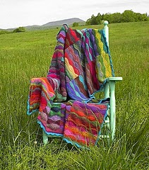Lizard Ridge Afghan by Laura Aylor