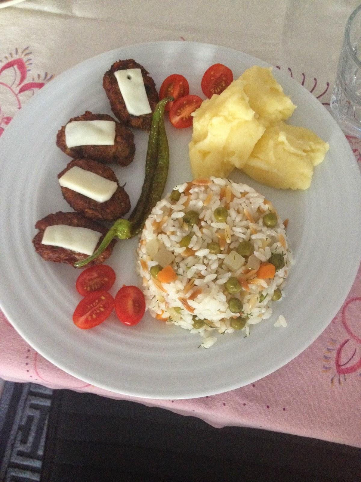Sebzeli Yoğurtlu Pilav