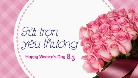 Gửi trọn yêu thương ngày phụ nữ