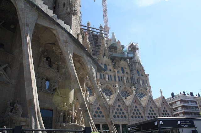 Revisiting Our Honeymoon - Barcelona, Spain - La Sagrada Familia