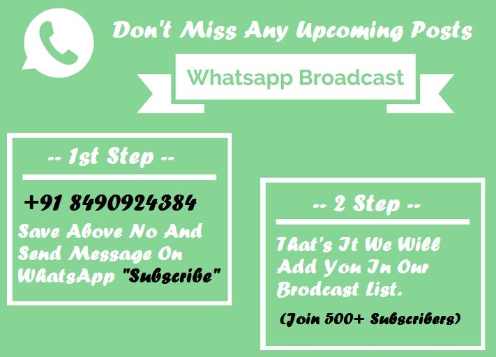 Whatsapp Broadcast Service
