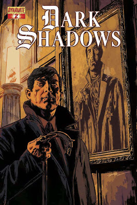 Cover of Dark Shadows #2 by Aaron Campbell from Dynamite Entertainment