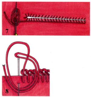 Обработка петель для застежки на пуговицы