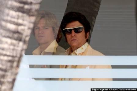 Matt Damon e Michael Douglas numa cena do filme (Foto: Divulgação)