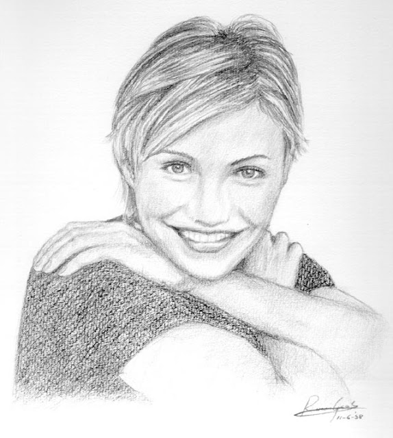 Best Celebrity Pencil Sketch 12