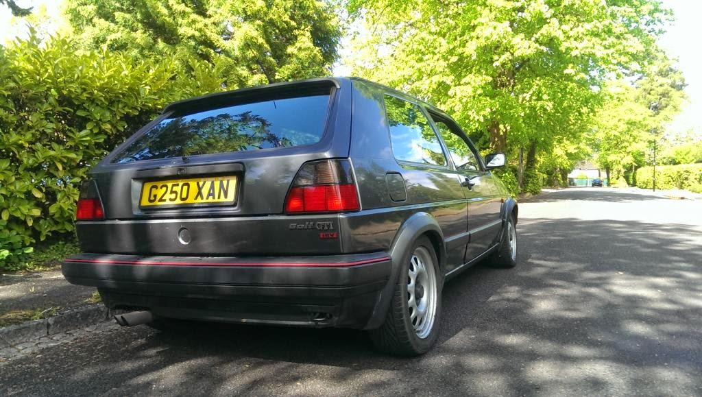 Life With A 1989 Vw Golf Mk2 Gti 16v June 2014